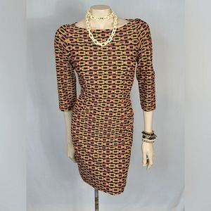 Jude Connally Marlowe Chain Link Dress SZ S